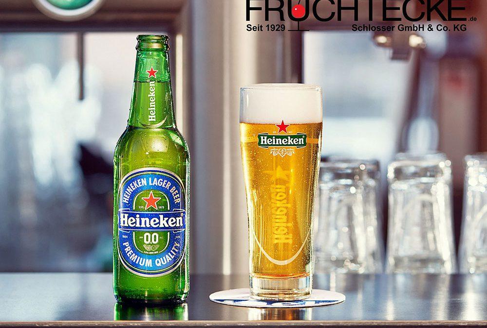 Neu im Bierportfolio: HEINEKEN 0,0%