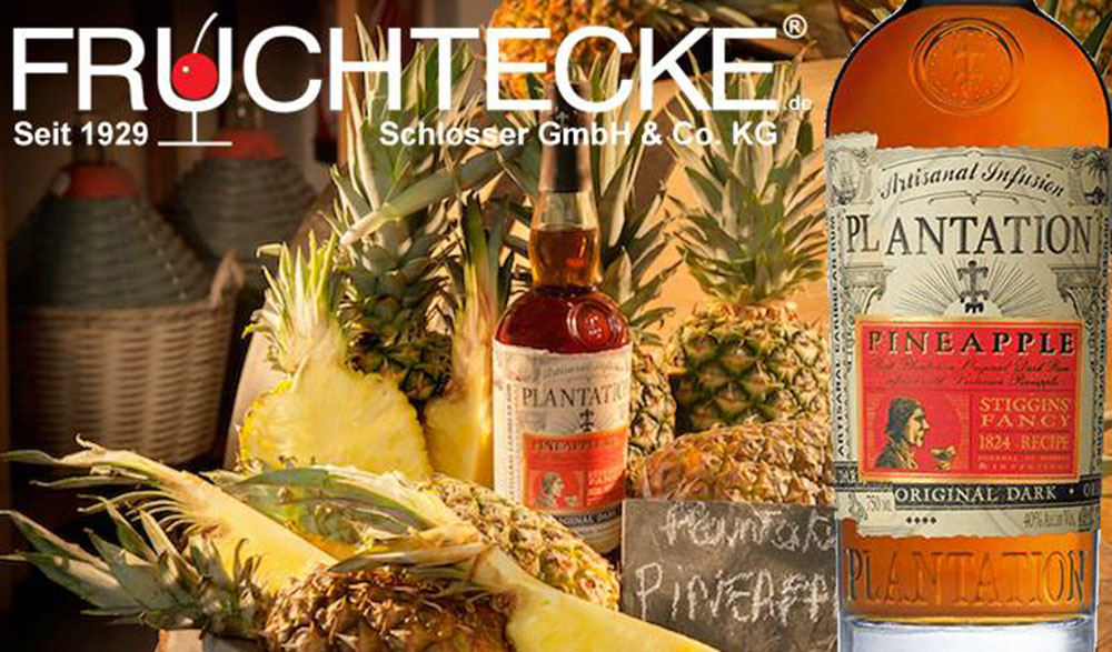 Neu im Sortiment!  PLANTATION PINEAPPLE